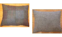 Skye sofa in Harris Tweed fabric Patchwork Small Lumbar Cushion
