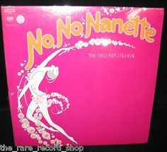 Various-LP-12-No-No-Nanette-Musical-1971-1st-Edition-Factory-Sealed-MINT
