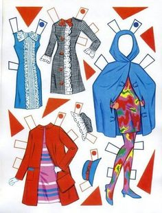 17 - Romashka Life - Picasa Webalbum1500 free paper dolls at Arielle Gabriel's The International Paper Doll Society and also free China and Japan paper dolls at The China Adventures of Arielle Gabriel *