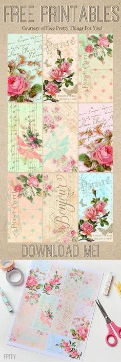#romantic #parisian #printables #free: