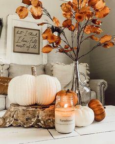 Thanksgiving Decorations, Seasonal Decor, Fall Decorations, Fall Table Centerpieces, Fall Room Decor, Fall Fireplace Decor, Fall Kitchen Decor, Rustic Fall Decor, Fall Bedroom