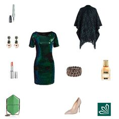 Evening Outfit: Green Chameleon. Mehr zum Outfit unter: http://www.3compliments.de/outfit-2015-08-19