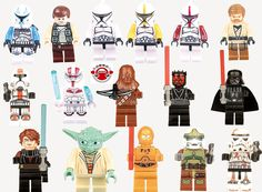 Amazon.com: DESO® 16-in one box figures minifigures Lego-compatible figures: Toys & Games