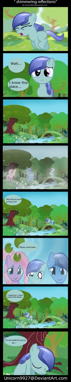 Crystal Origins: Shimmering Refections by unicorn9927 on DeviantArt
