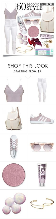 """Believe me it can only get better.."" by its-siobhan-again ❤ liked on Polyvore featuring adidas, Jimmy Choo, Arcona and Bling Jewelry"