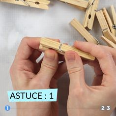 Cute Clothespin Crafts and Ideas – Stella basteln – Home crafts Diy Crafts For Home Decor, Diy Crafts Hacks, Diy Crafts For Gifts, Diy Arts And Crafts, Craft Stick Crafts, Handmade Crafts, Easy Crafts, Crafts For Kids, Diy Projects