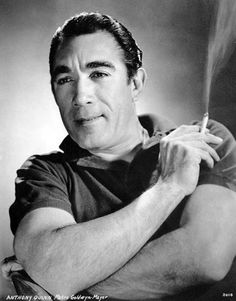 Anthony Quinn (April 21, 1915 – June 3, 2001), Mexican American actor.