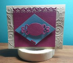 Sheryl's Crafting Corner: Three quick cards from scrap pile
