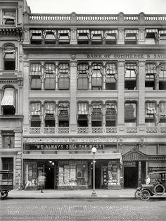 """Washington, D.C., circa 1921. """"People's Drug Store, 11th and E Sts."""""""