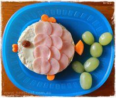 Fun Fish Sandwich Lunch