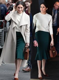 Now, a look at what Meghan wore today!