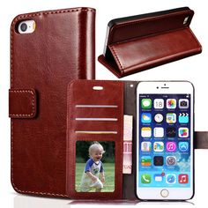 For Apple iPhone 6s 6 Case Luxury PU Leather Case Phone Cover Flip Photo Frame Stand Bags Wallet Retro For iphone 6