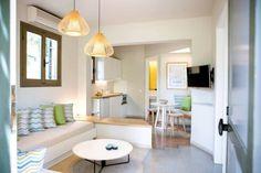 """Το εσωτερικό αυτού του σπιτιού 40 τ.μ. στην Κρήτη, είναι ο ορισμός της λέξης """"κουκλίστικο"""""""