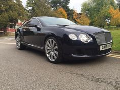 Bentley Continental GT 6.0 W12 2dr Auto Coupe Petrol Dark Sapphire Blue Metallic