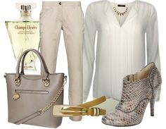 Classy lady - Business Outfit - stylefruits.nl