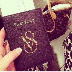 Victoria's Secret passport holder