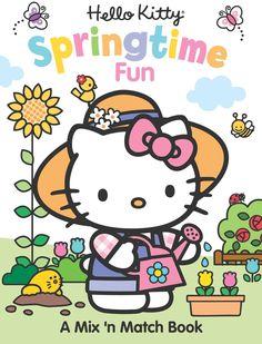 Hello Kitty Springtime Fun: A Mix 'n Match Book by Frankie Jones
