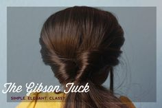 The Spicys!: Let's style the Gibson Tuck!