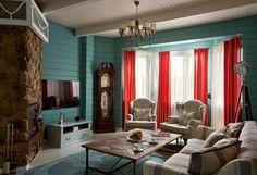 Фото гостиной в стиле прованс