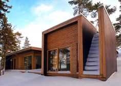 Aaland Summer House by Todd Saunders and Tommie Wilhelmsen