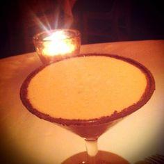 Cafe Tacuba: Kahlua, tequila, cream, intelligentsia espresso, cocoa-cinnamon rim) taken at Frontera Grill & Topolobampo