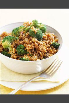 Recetas: Arroz con verduras Mexican Food Recipes, Diet Recipes, Vegetarian Recipes, Cooking Recipes, Healthy Recipes, Salty Foods, Kitchen Recipes, My Favorite Food, Appetizer Recipes