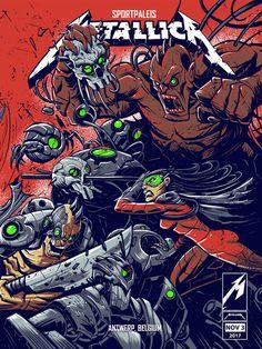 Image of Metallica Belgium Posters