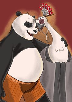 I have always wondered how Lord Shen and Po would be If they were not enemies any longer and instead be there for each other and have a good relationship and help each other when they need it. Kung Fu Panda, Disney Pixar, Disney Characters, Fictional Characters, Best Relationship, Enemies, Dreamworks, Peacock, Projects To Try