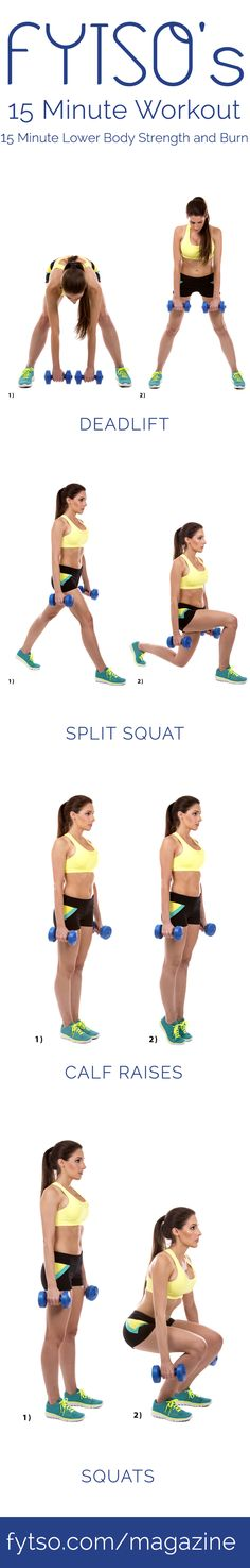 This 15 minute workout that will strengthen your lower body and burn a ton of calories in the process.
