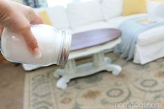 DIY Carpet Deoderizing Powder - Sometimes it's nice to freshen up the carpets and rugs in your home, especially when you have kids or pets. A few weeks ago, we…