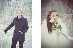 Winter wedding. Talvihäät.