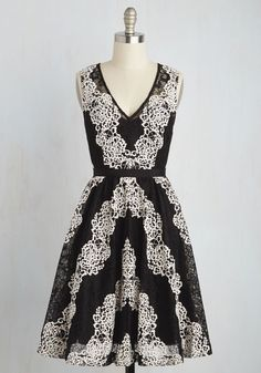 Chesapeake Mystique Dress. When your sweetie surprises you with a candlelit dinner on the bay, you return the thrill with this black dress from Plenty by Tracy Reese!  #modcloth $170