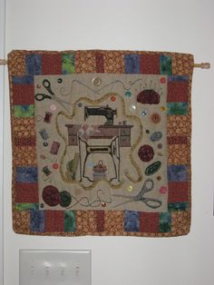 Cathy's wall hanging quilt
