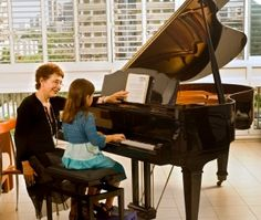 The piano teacher. Senior piano teacher with young girl student , Music Lessons For Kids, Music For Kids, Piano Lessons, Children Music, Piano Teaching, Teaching Jobs, Learning Piano, Keyboard Lessons, Jobs For Teachers