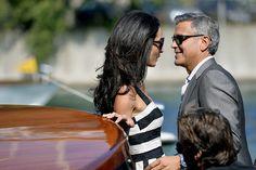 See George Clooney and Amal Alamuddin Gallivant Around Venice Before Their Wedding | Vanity Fair