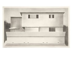Ed Ruscha,  4527.D.1965.22 Beverly Glen 1965 Graphite on paper 14 1/16 x 22 9/16 inches