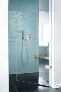modern turquoise tiles   Beautiful turquoise glass tiles