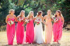 jolies robes de demoiselles d'honneur en Suisse