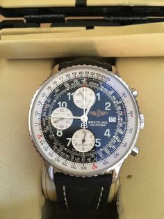 BREITLING Navitimer Chronograph watch, A13322 in original Box With All Papers