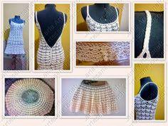 O Vestido de Noiva que eu fiz em crochet !!!
