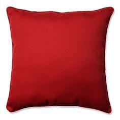 Pompeii Red 25-inch Floor Pillow