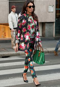 TopShop: How does your garden grow? Love a clash of spring florals!