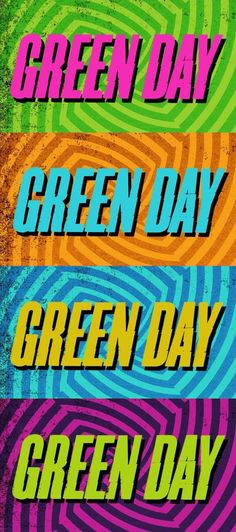 Green Day... I just had to say it again.