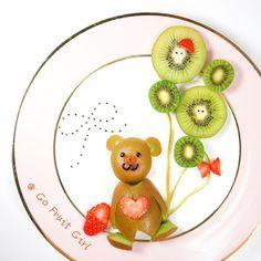 Funny Fruit Art by Artist Joanne Chan. |CutPaste Studio| Art, Artist, Artwork, Illustrations, Entertainment, beautiful,creativity, drawings, paintings, food art, fruits, funny