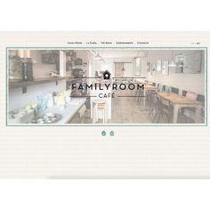 Contentas de presentaros la web de una nueva cafetería que próximamente abrirá sus puertas. @familyroomcafe #cafe #cute #web #design #barcelona #eco #bio #friends #kids