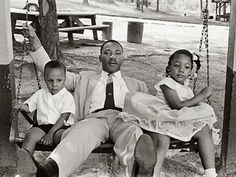 Dr. Martin Luther King, Jr. and His Children