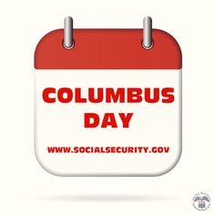Our offices are closed today #ColumbusDay.  Visit us online at www.socialsecurity.gov/onlineservices