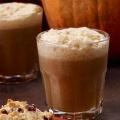 Forbidden 'Butter Beer' is a festive fall drink for Halloween gatherings - and super easy to make! #Halloweenrecipe #CountryCrock