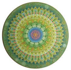 """Gaia"" mandala Sunmandalas by Je- 2018 (C) ( Seed of Life, Universe, Life, Sun,  Spiral energy, New life, Nature, Earth) http://www.sunmandalas.webnode.hu"