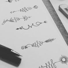 Unalomes disponíveis! Pensa num negócio gostoso de desenhar... #unalometattoo #unalomedesign #tattooflash #draw2me #blackink #iblackwork
